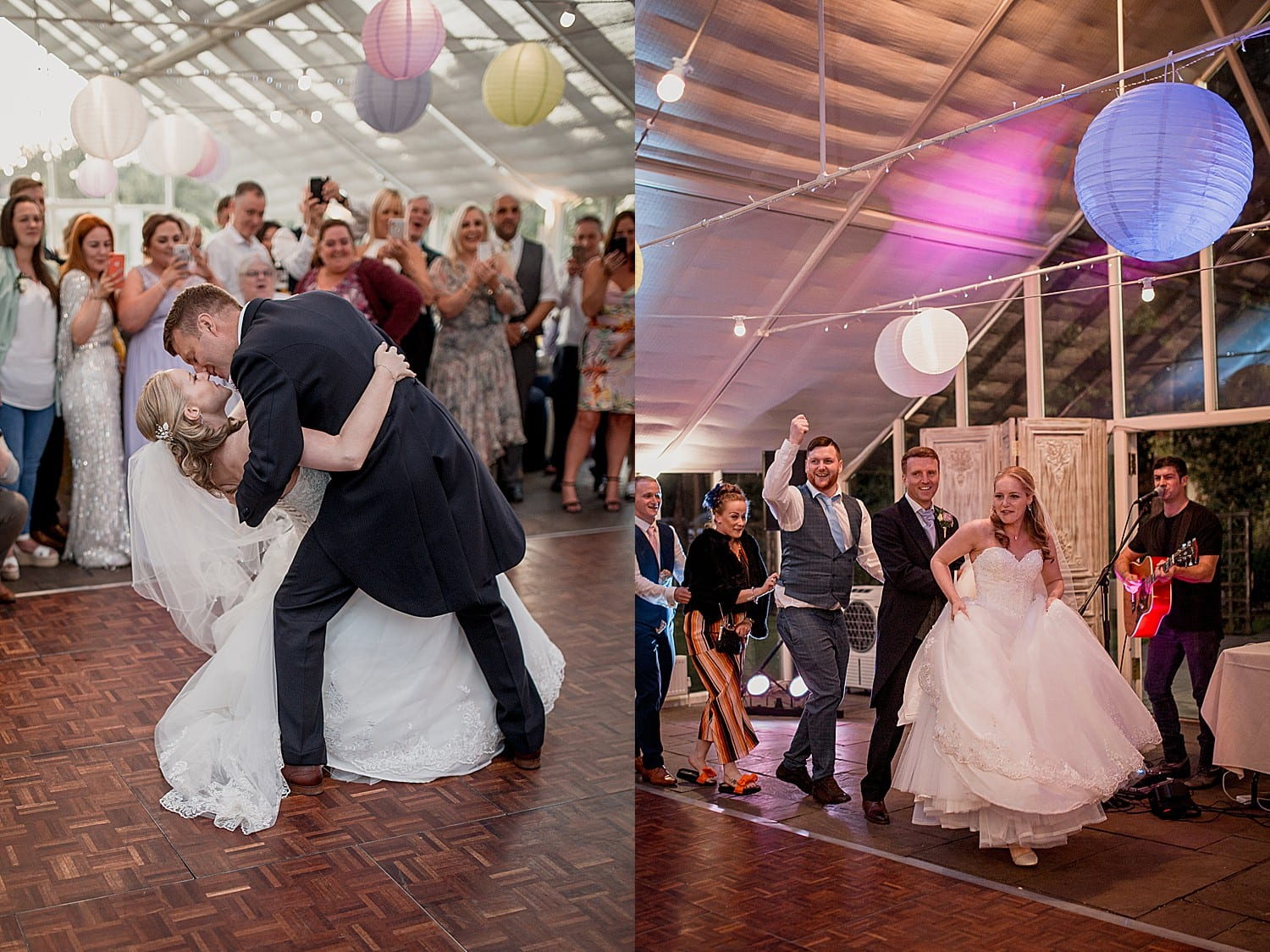 dancing at abbeywood estate wedding
