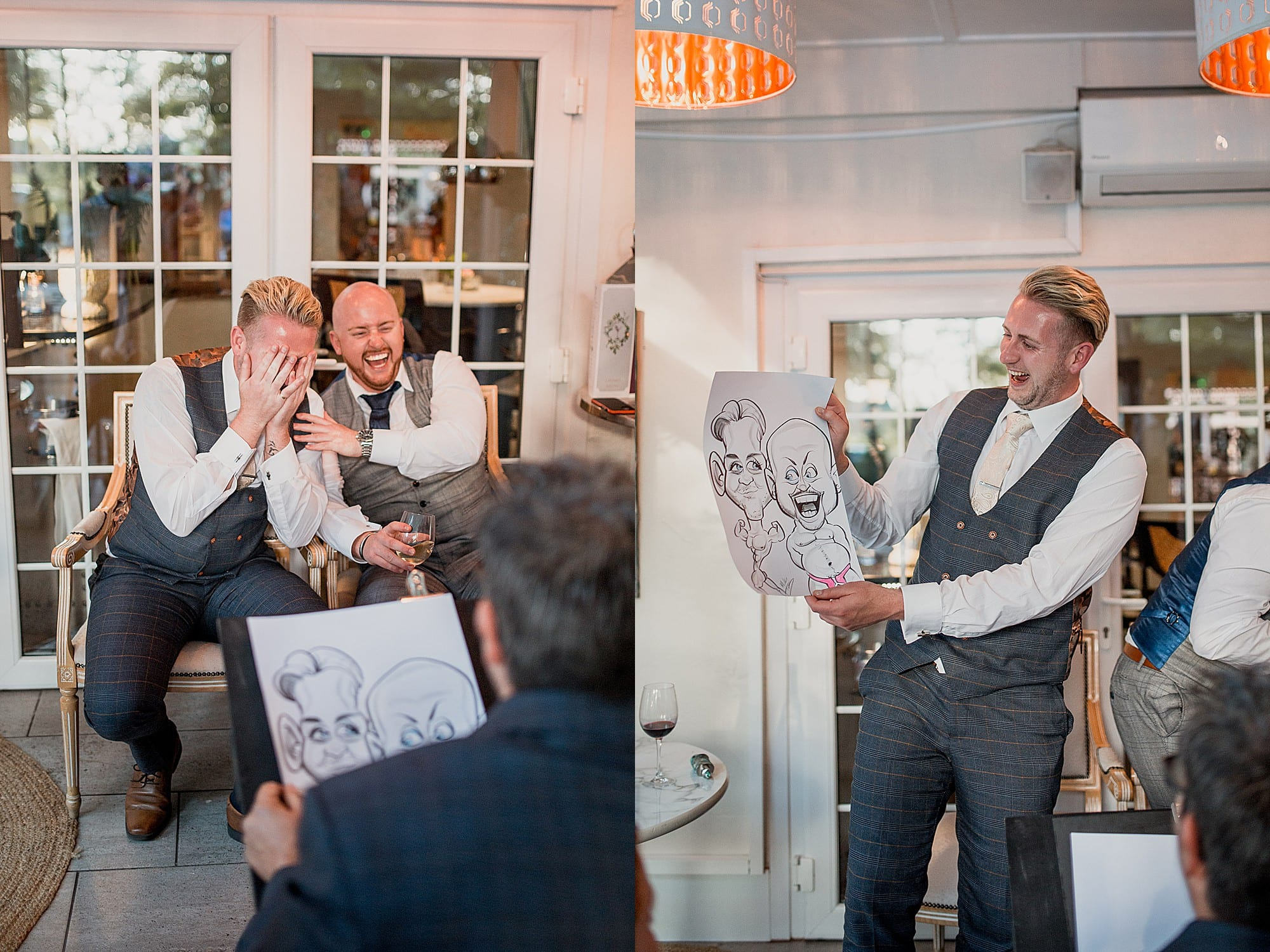 reactions to the caricaturist