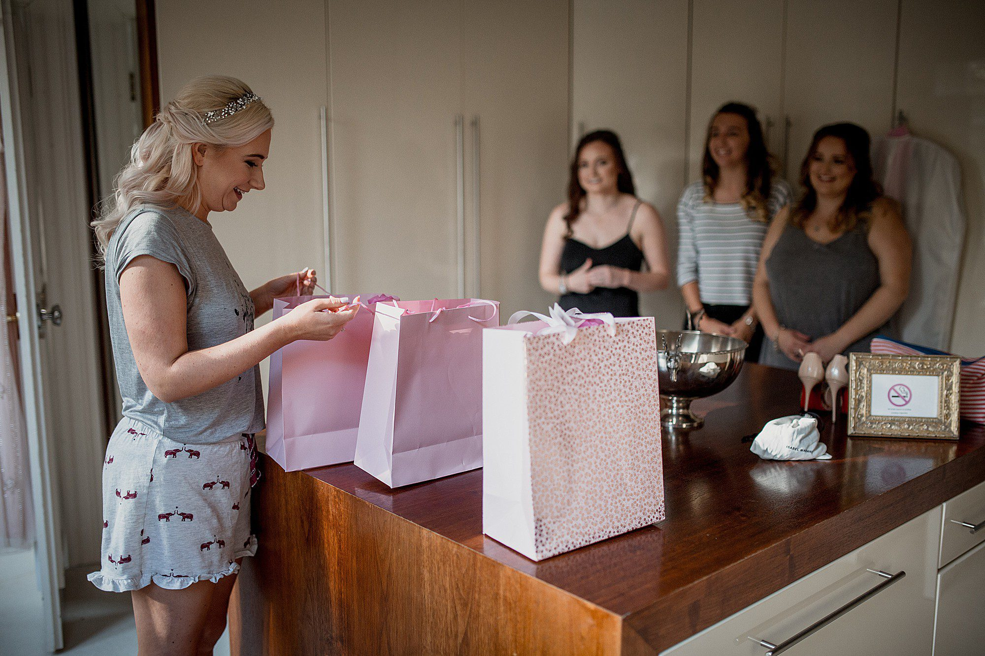 bridesmaids gifts at delamere manor