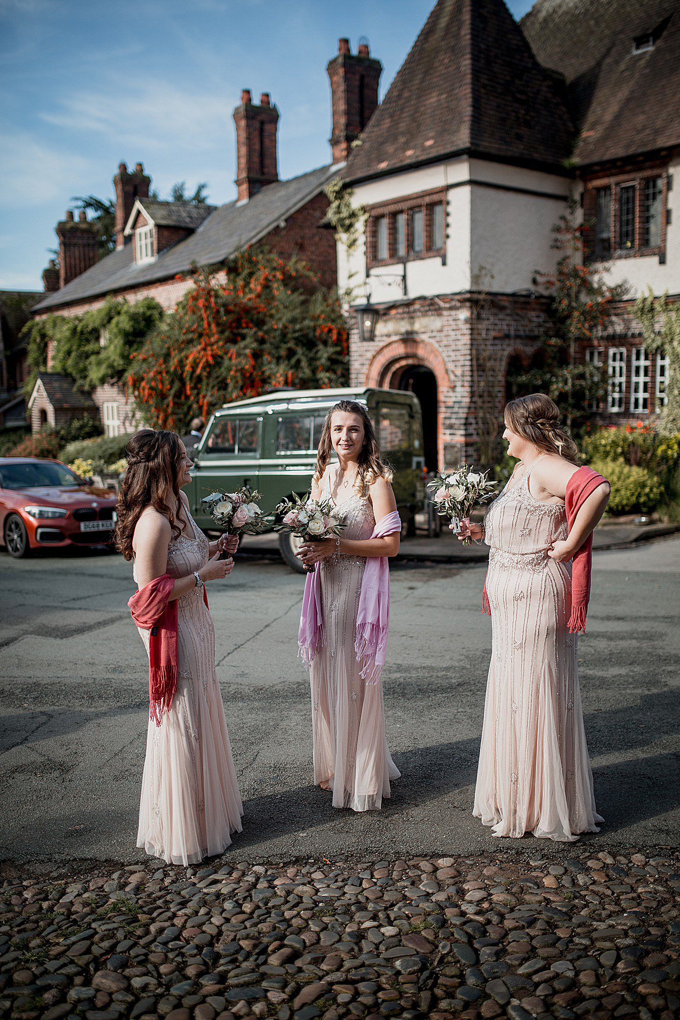 bridesmaids in great budworth