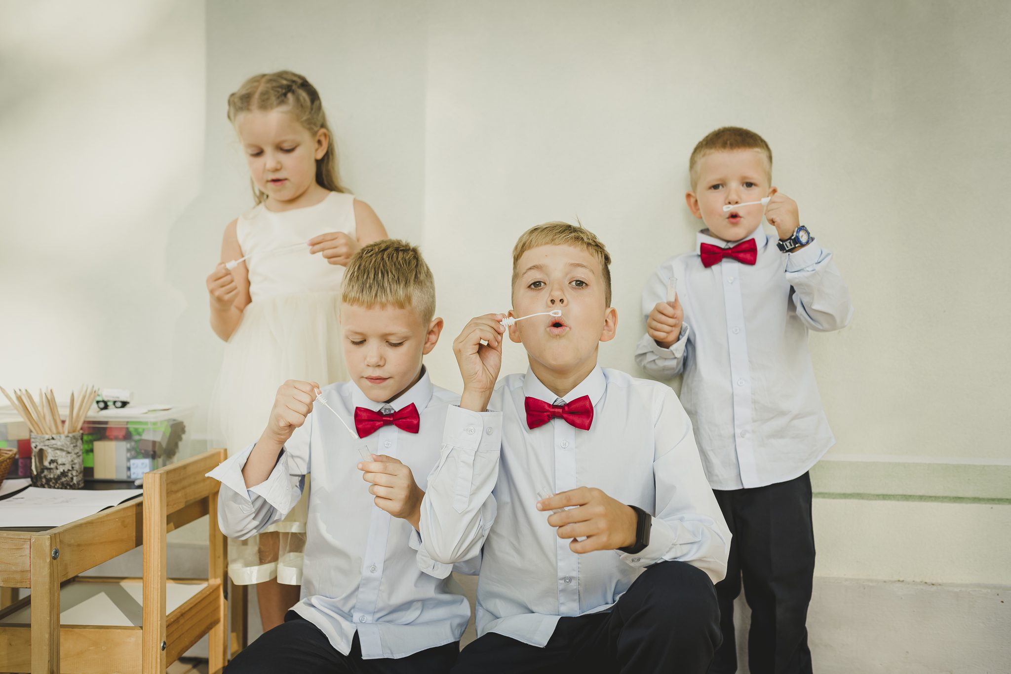 kid wedding photography
