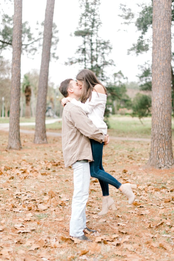 Fall engagement session at Arsenal Park Baton Rouge