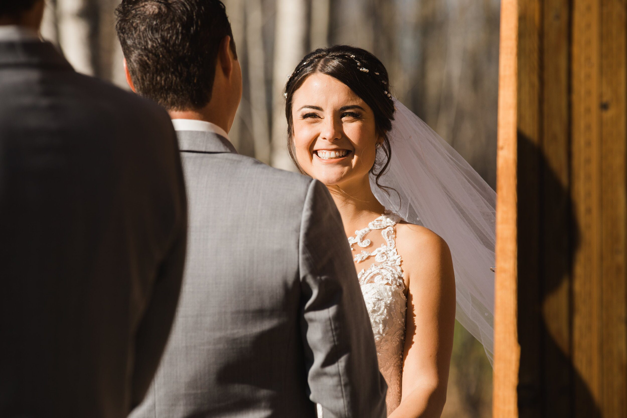 Whether or not to do a first look prior to your wedding.